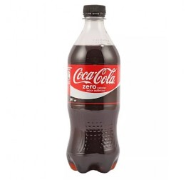 COCA-COLA ZERO PET 591CC (X6)
