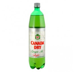 GINGER ALE LIGHT PET 1.5L (X6)