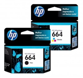 TINTA IMPRESORA HP 664 COLOR (X1)